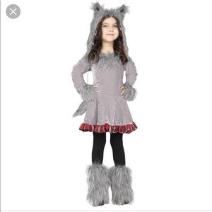 Other - Wolf cub toddler costume